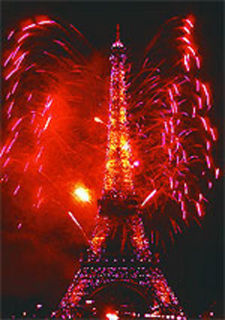 Eiffel tower nyeve